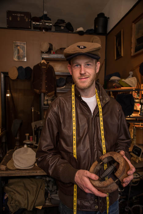Steven Finch, Owner and Hat Maker-William Carlton Workshop-Boston's North End